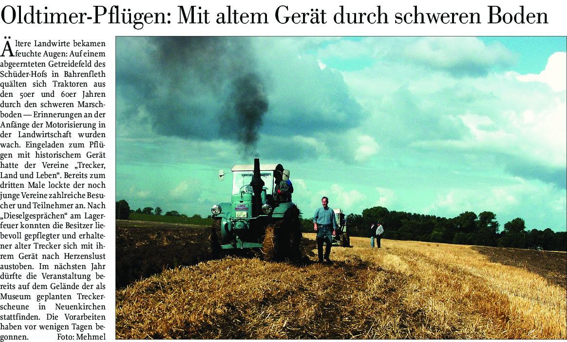 thumbnail of Historisches Pflügen – Hof Schüder